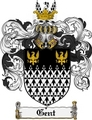 Thumbnail Gent Family Crest Gent Coat of Arms Digital Download