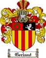 Thumbnail Gerland Family Crest  Gerland Coat of Arms