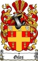 Thumbnail Giles Family Crest  Giles Coat of Arms