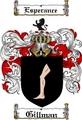 Thumbnail Gillman Family Crest  Gillman Coat of Arms