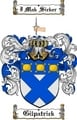Thumbnail Gilpatrick Family Crest  Gilpatrick Coat of Arms