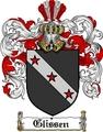 Thumbnail Glissen Family Crest  Glissen Coat of Arms