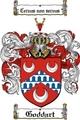 Thumbnail Goddart Family Crest  Goddart Coat of Arms