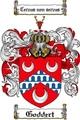 Thumbnail Goddert Family Crest Goddert Coat of Arms Digital Download