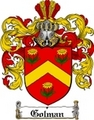 Thumbnail Golman Family Crest  Golman Coat of Arms