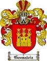 Thumbnail Gonsalviz Family Crest  Gonsalviz Coat of Arms