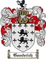 Thumbnail Gooderich Family Crest Gooderich Coat of Arms Digital Download