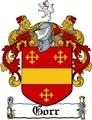Thumbnail Gorr Family Crest  Gorr Coat of Arms