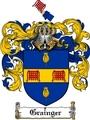 Thumbnail Grainger Family Crest  Grainger Coat of Arms