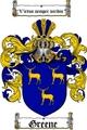 Thumbnail Greene Family Crest / Greene Coat of Arms