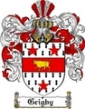 Thumbnail Grigby Family Crest  Grigby Coat of Arms