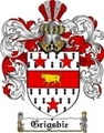 Thumbnail Grigsbie Family Crest  Grigsbie Coat of Arms