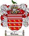 Thumbnail Grime Family Crest  Grime Coat of Arms