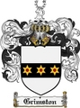 Thumbnail Grimston Family Crest Grimston Coat of Arms Digital Download