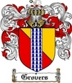 Thumbnail Grovers Family Crest  Grovers Coat of Arms