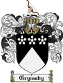 Thumbnail Grymsby Family Crest Grymsby Coat of Arms Digital Download