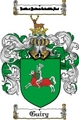 Thumbnail Guiry Family Crest  Guiry Coat of Arms