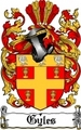 Thumbnail Gyles Family Crest  Gyles Coat of Arms