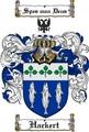 Thumbnail Hackert Family Crest  Hackert Coat of Arms