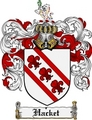 Thumbnail Hacket Family Crest Hacket Coat of Arms Digital Download