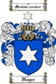 Thumbnail Hager Family Crest  Hager Coat of Arms
