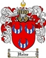 Thumbnail Haine Family Crest  Haine Coat of Arms