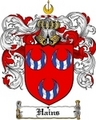 Thumbnail Hains Family Crest  Hains Coat of Arms