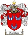 Thumbnail Hainson Family Crest  Hainson Coat of Arms