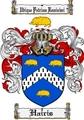 Thumbnail Hairis Family Crest  Hairis Coat of Arms
