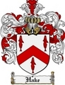 Thumbnail Hake Family Crest Hake Coat of Arms Digital Download