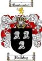Thumbnail Haliday Family Crest  Haliday Coat of Arms