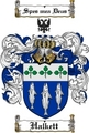 Thumbnail Halkett Family Crest  Halkett Coat of Arms