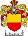 Thumbnail Hallberg Family Crest  Hallberg Coat of Arms