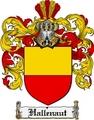 Thumbnail Hallenaut Family Crest  Hallenaut Coat of Arms