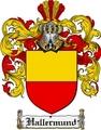 Thumbnail Hallermund Family Crest  Hallermund Coat of Arms