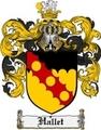 Thumbnail Hallet Family Crest Hallet Coat of Arms Digital Download