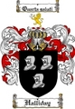 Thumbnail Halliday Family Crest  Halliday Coat of Arms