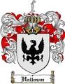 Thumbnail Hallman Family Crest  Hallman Coat of Arms