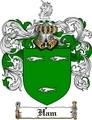 Thumbnail Ham Family Crest  Ham Coat of Arms