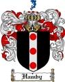 Thumbnail Hamby Family Crest  Hamby Coat of Arms