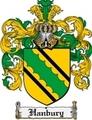 Thumbnail Hanbury Family Crest Hanbury Coat of Arms Digital Download