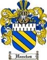 Thumbnail Hanckes Family Crest Hanckes Coat of Arms Digital Download