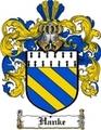 Thumbnail Hanke Family Crest  Hanke Coat of Arms