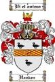 Thumbnail Hanken Family Crest  Hanken Coat of Arms