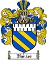 Thumbnail Hankes Family Crest  Hankes Coat of Arms