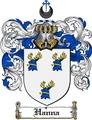 Thumbnail Hanna Family Crest  Hanna Coat of Arms