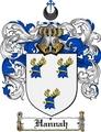 Thumbnail Hannah Family Crest  Hannah Coat of Arms