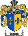 Thumbnail Hansen Family Crest / Hansen Coat of Arms