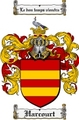 Thumbnail Harcourt Family Crest Harcourt Coat of Arms Digital Download