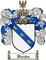 Thumbnail Harden Family Crest  Harden Coat of Arms